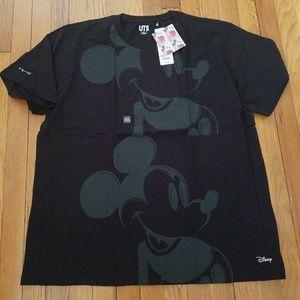 Nwt uniqlo Andy Warhol Mickey Mouse disney tee